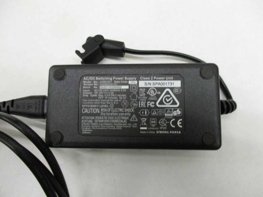Replacement 29v Dc Transformer With Mains Lead 1m